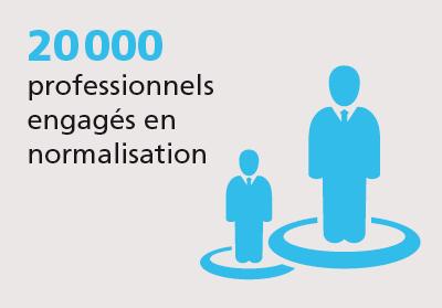 20000 professionnels normalisation