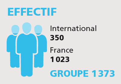 Effectif Groupe AFNOR