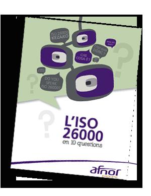Buy AFNOR standard ISO 26000ISO 26000 in ten questions (in French)