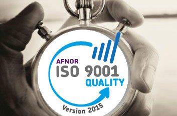 AFNOR ISO 9001 quality