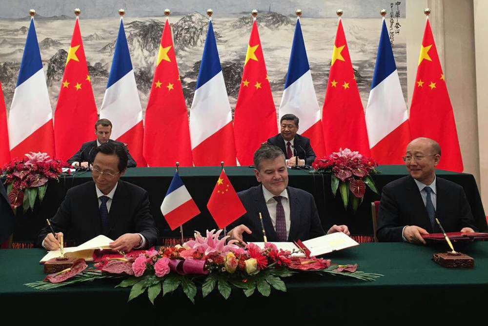 French-Chinese economic exchanges