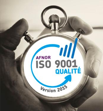 Certification ISO 9001 Qualité