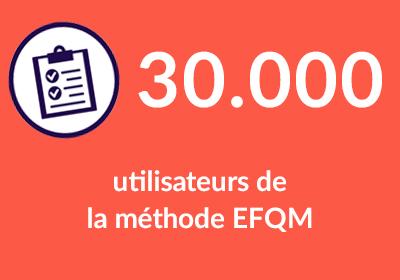30000 utilisateurs de la méthode EFQM