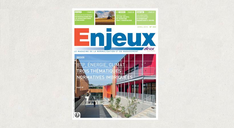 Magazine Enjeux n° 353