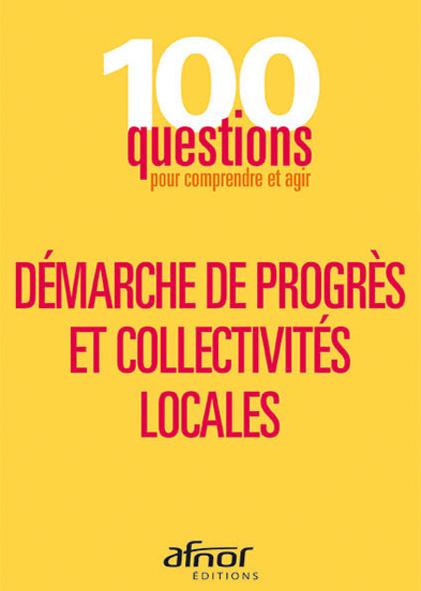 Livre sur la démarche de progrès et collectivités locales par AFNOR Editions