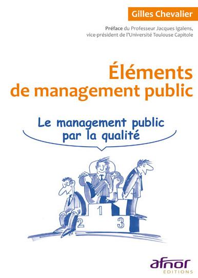Livre sur le management public par la qualité par AFNOR Editions