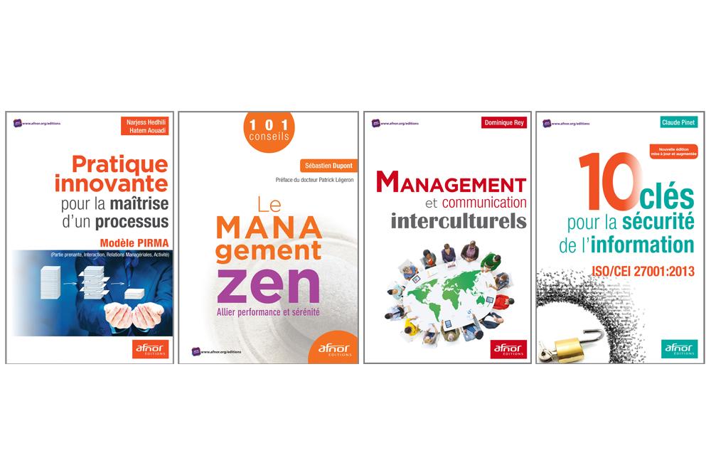 Lecture : les quatre ouvrages publiés en janvier par AFNOR Editions