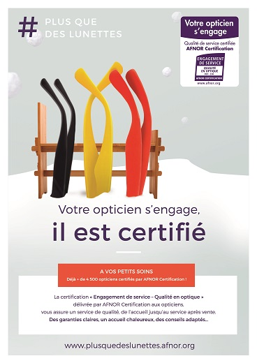 Certification Afnor et les opticiens