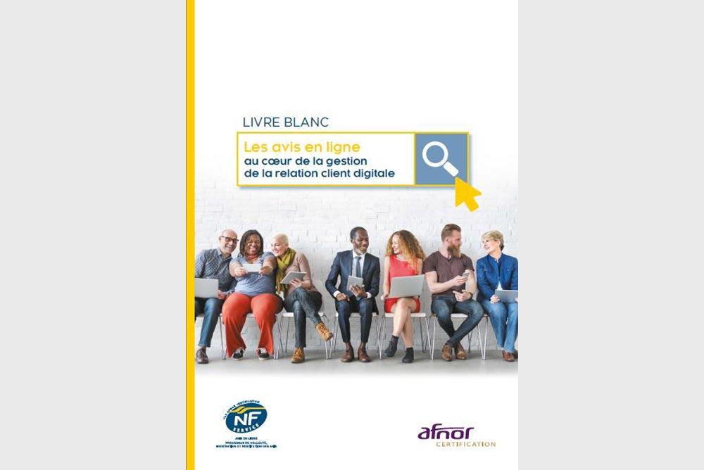 Livre blanc : les avis en ligne au coeur de la gestion de la relation client digitale
