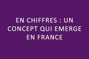 En chiffres : un concept qui émerge en France