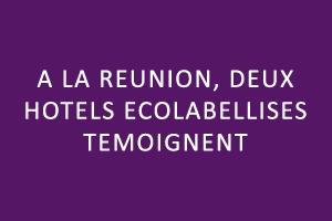 A La Réunion, deux hôtels écolabellisés témoignent