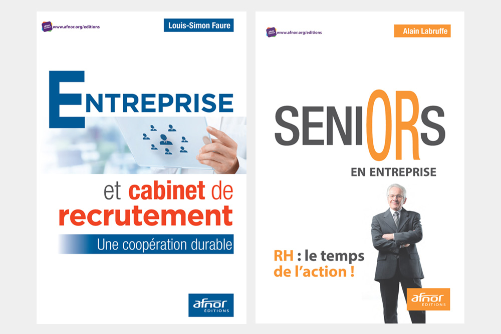 Parution de deux livres à propos des cabinets de recrutement et des seniors en entreprise