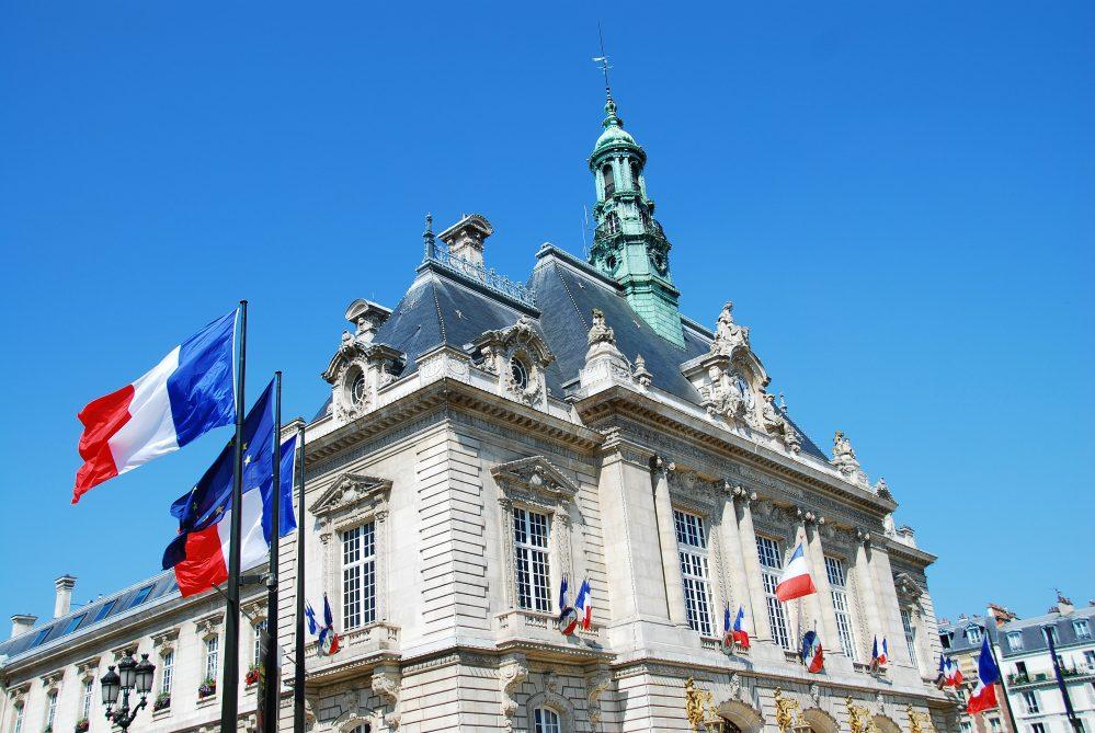 Mairie de Levallois-Perret (92), France