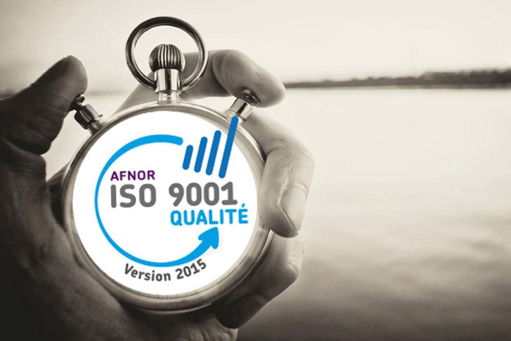 Certification ISO 9001 - Qualité