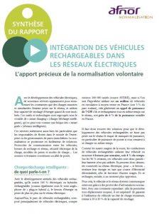 Synthèse du rapport sur l'intégration des véhicules rechargeables dans les réseaux électriques