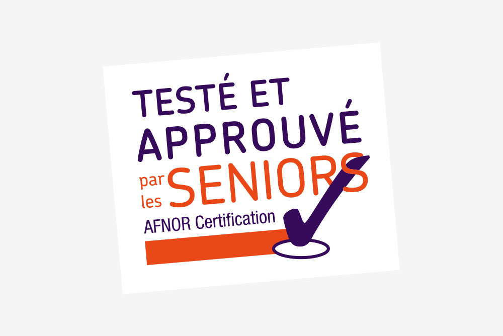 Logo Testé et approuvé par les seniors