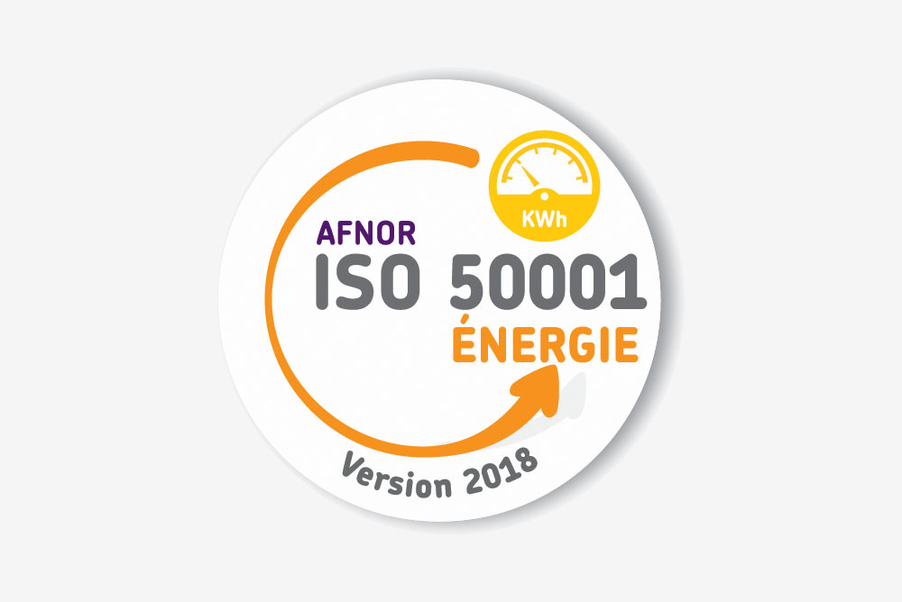 Logo ISO 50001 version 2018