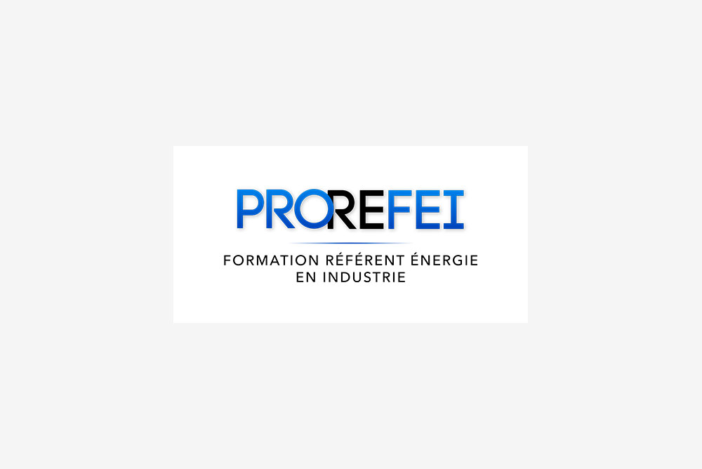 Logo Prorefei - formation référent énergie en industrie