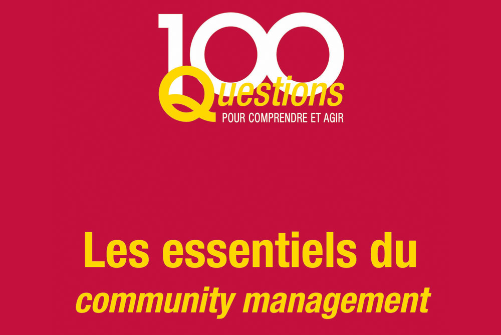Couverture du livre Les essentiels du community management