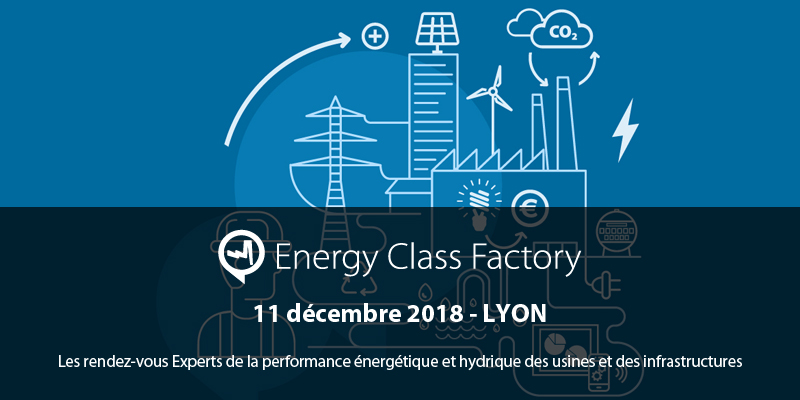 Invitation au salon Energy Class Factory le 11 décembre 2018
