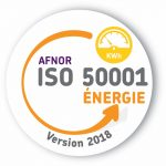 Logo ISO 50001 - management de l'énergie