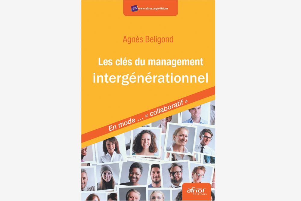 Couverture de l'ouvrage sur les clés du management intergénérationnel