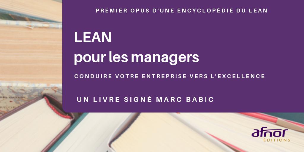 Couverture de l'ouvrage Lean pour les managers