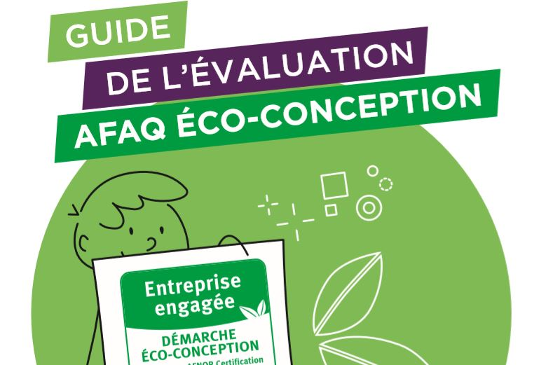 Couverture du guide de l'évaluation Eco-conception