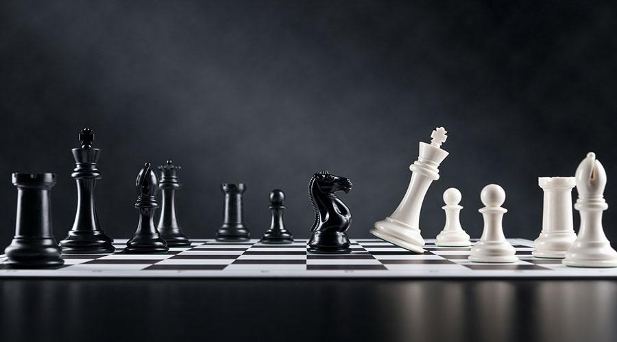 Un jeu d'échecs
