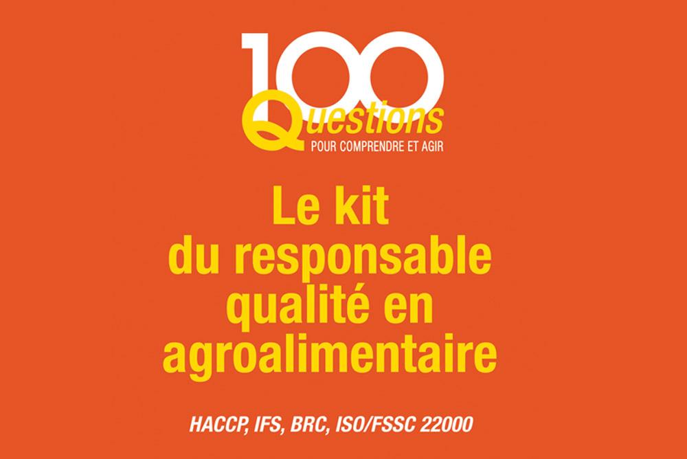 Couverture du livre d'Olivier Boutou sur le kit du responsable qualité en agroalimentaire