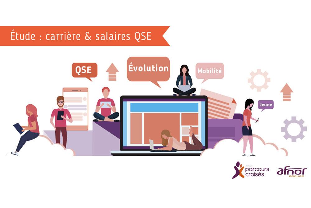 Etude : carrière et salaires QSE