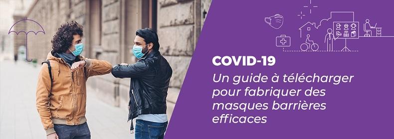 Coronavirus : un guide AFNOR pour fabriquer des masques barrières