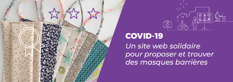 CoVId-19 : une plateforme web pour proposer des masques barrières